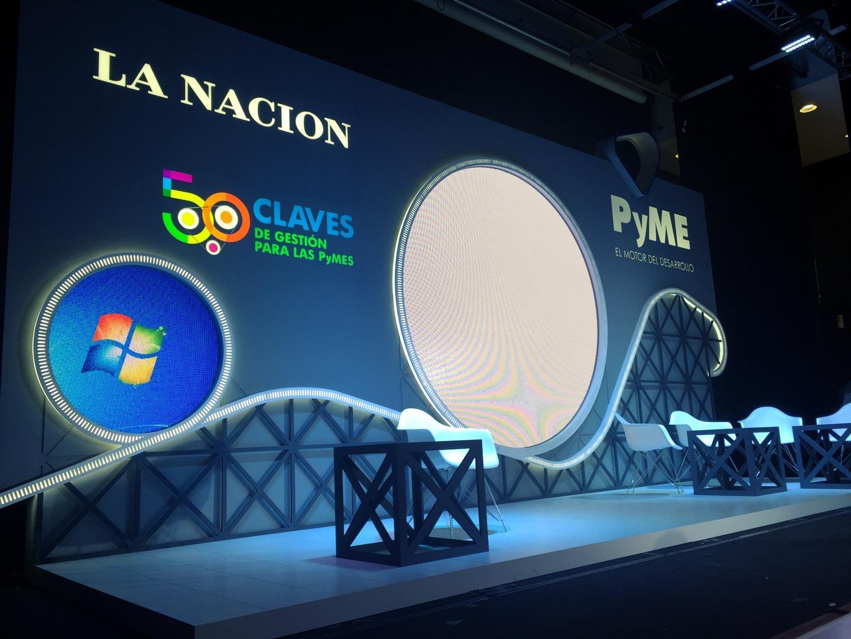 Escenografía La Nacion 50 claves para las pymes